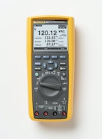 TRUE-RMS INDUSTRIAL LOGGING MULTIMETER WITH TRENDCAPTURE